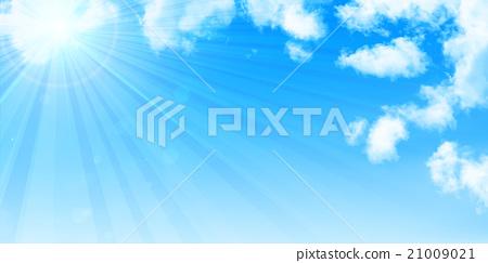 하늘 구름 풍경 배경 21009021