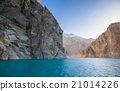 Attabad Lake in Northern area of Pakistan 21014226