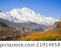 beautiful Landscape of Hunza Valley in Autumn 21014658