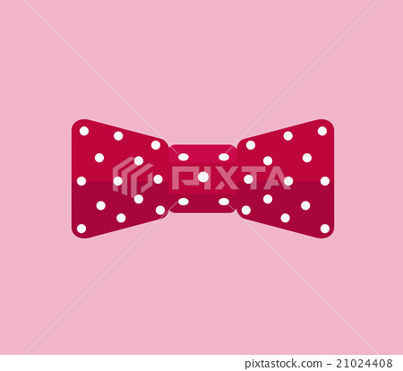 Business Accessory Bow Tie Design Flat 21024408