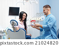 Stomatology and health care concept 21024820