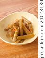 巨蜂斗菜 燉 開水焯過的食物 21028180
