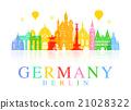 Germany, Berlin travel landmark. 21028322