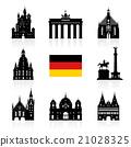 Germany, Berlin travel landmark. 21028325