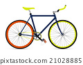 Fixed gear bicycle 21028885