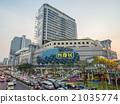 Traffic crossroads in Bangkok 21035774