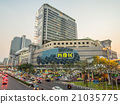 Traffic crossroads in Bangkok 21035775