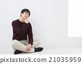 男人 沉思 思考 21035959