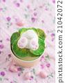 Easter bunny cupcake 21042072