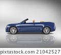 Car Convertible Transportation 3D Illustration Concept 21042527