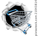 Shopping Cart Trolley Concept 21043814