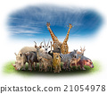 group of africa animals 21054978