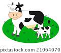 矢量 動物 奶牛 21064070