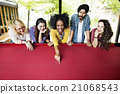 Students Billiards Game Friends Friendship Concept 21068543