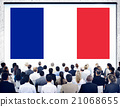 France Country Flag Nationality Culture Liberty Concept 21068655