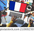 France Country Flag Nationality Culture Liberty Concept 21069230