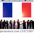 France Country Flag Nationality Culture Liberty Concept 21071967