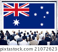 Australia Flag Country Nationality Liberty Concept 21072623