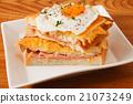 白麵包 麵包 三明治 21073249