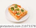 吐司 西餐 麵包 21073378