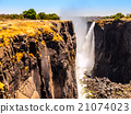 Majestic view of Victoria Falls 21074023
