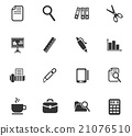office icon set 21076510