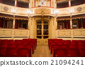 Theater,  interior view, arena and balconies 21094241
