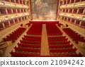Theater,  interior view, arena and balconies 21094242