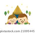 父母和小孩 親子 營地 21095445
