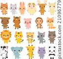 動物 哺乳動物 各種各樣 21096779