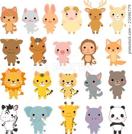 動物 各種各樣 人物 21096779