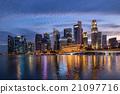 Singapore skyline 21097716