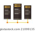 vector, illustration, server 21099135