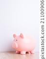 pink piggy bank 21100906