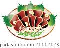 烤鲣鱼 21112123