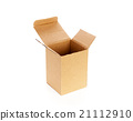 Cardboard boxes isolated on white background 21112910