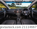 Detail of new modern car interior 21114667
