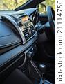 Detail of new modern car interior 21114756
