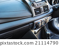 Detail of new modern car interior 21114790