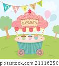 cupcake cart party 21116250