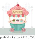 cupcake cart 21116251