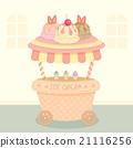 ice cream cart 21116256