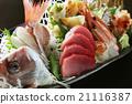 生鱼片,鲜鱼, 21116387