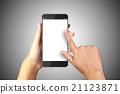 Hand holding smart phone 21123871