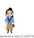 矢量 浦島太郎 民俗學 21126578