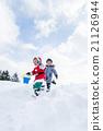 奔跑 跑步 耶誕節 21126944