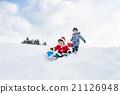 男孩 男孩們 雪 21126948