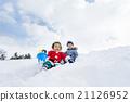 男孩 男孩們 雪 21126952