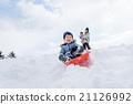 부모와 자식, 눈놀이, 라이프 스타일 21126992