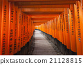 Fushimi Inari Taisha Shrine in Kyoto, Japan 21128815